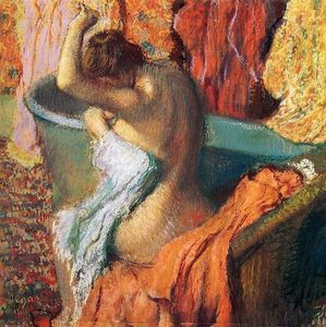 Edgar Degas - Seated Bather