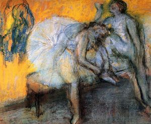Edgar Degas - Two Dancers Resting