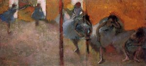Edgar Degas - Dancers in a Studio