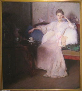 Edmund Charles Tarbell - Arrangement in Pink and Gray (Afternoon Tea)