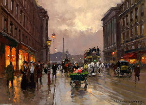 Edouard Cortes - Concorde and Rue Royale