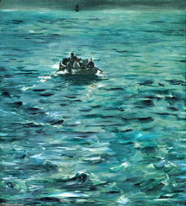 Edouard Manet - Rochefort-s Escape