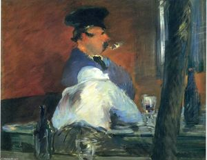 an analysis of edouard manets last painting a bar at the folies bergere