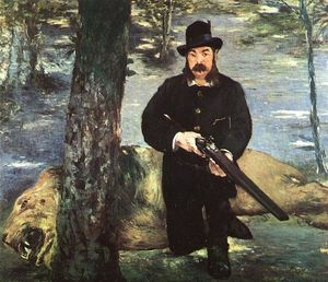 Edouard Manet - Pertuiset, Lion Hunter