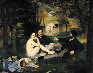 Edouard Manet - The Luncheon on the Grass