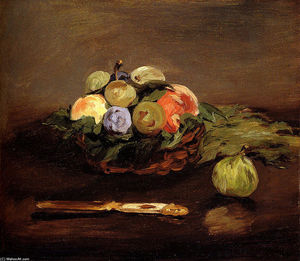Edouard Manet - Basket of Fruits