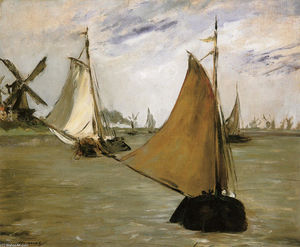 Edouard Manet - View of Holland