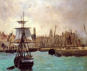 Edouard Manet - The Port of Bordeaux