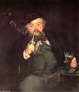 Edouard Manet - A Good Glass of Beer