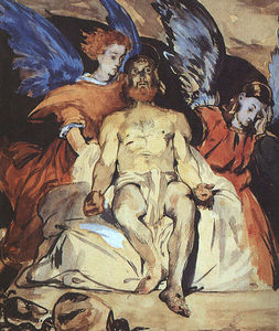 Edouard Manet - Study to --Dead Christ with Angels--