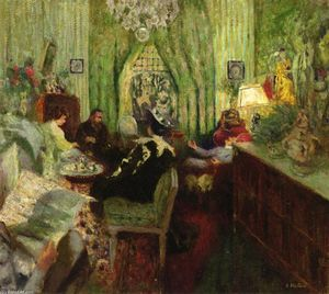 Jean Edouard Vuillard - The Salon of Madame Aron