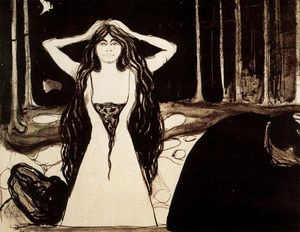 Edvard Munch - Ashes II