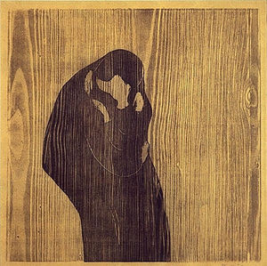 Edvard Munch - Kiss IV