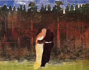 Edvard Munch - Towards the Forest II