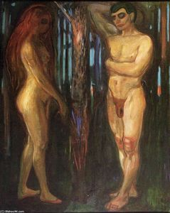Edvard Munch - Adam and Eve