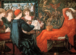 Edward Coley Burne-Jones - Laus Veneris