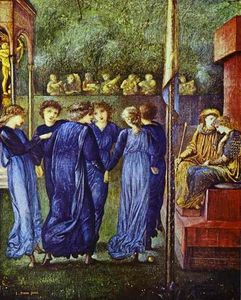 Edward Coley Burne-Jones - The King-s Wedding