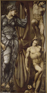 Edward Coley Burne-Jones - The Wheel of Fortune