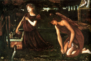 Edward Coley Burne-Jones - Cupids Forge