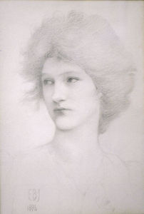 Edward Coley Burne-Jones - Olive Maxse