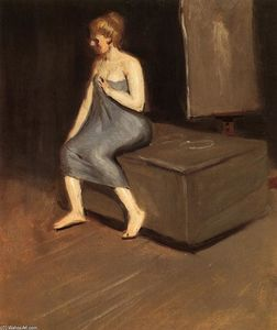 Edward Hopper - Model sitting