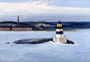 Edward Hopper - Five A.M.