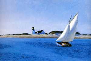 Edward Hopper - The Long Leg
