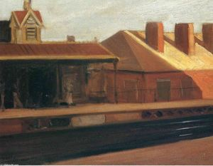 Edward Hopper - The El Station