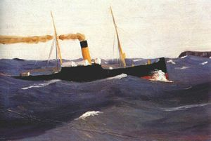 Edward Hopper - Tramp Steamer
