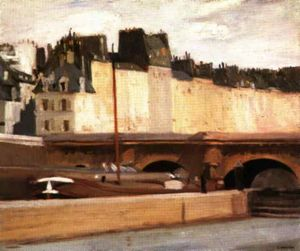Edward Hopper - The New bridge