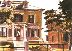 Edward Hopper - Davis House