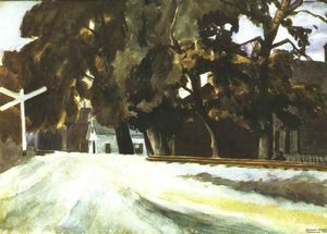 Edward Hopper - Railroad Crossing