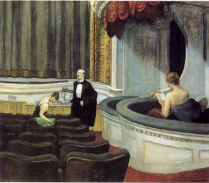 Edward Hopper - Two on the Aisle