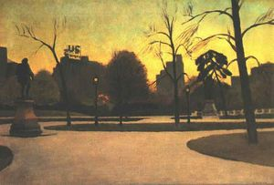 Edward Hopper - Shakespeare at Dusk
