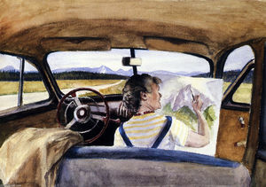 Edward Hopper - Jo In Wyoming