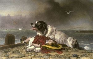 Edwin Henry Landseer - Saved