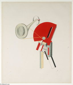 El Lissitzky - Announcer