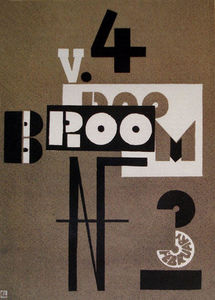 El Lissitzky - Cover of Broom