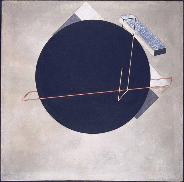 Proun 8 by El Lissitzky (1890-1941, Russia)