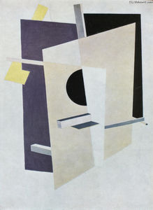 El Lissitzky - Proun Interpenetrating Planes