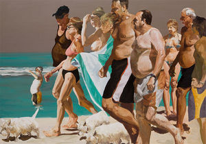 Eric Fischl - Scenes From Late Paradise The Parade