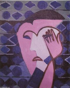 Ernst Ludwig Kirchner - Sad Female Head