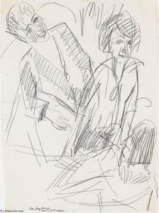 Ernst Ludwig Kirchner - Three Women