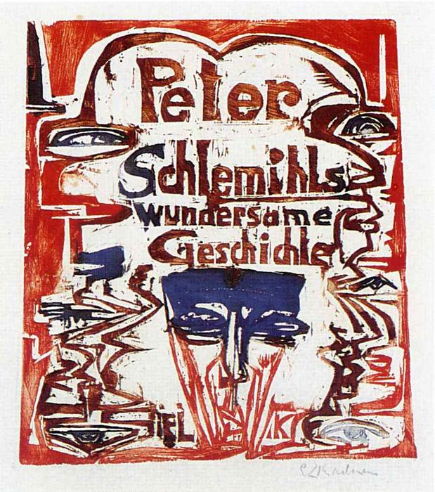 Peter Schlemihl's Remarkable Story by Ernst Ludwig Kirchner (1880-1938, Germany)