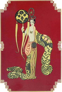 Erté (Romain De Tirtoff) - Asian Princess