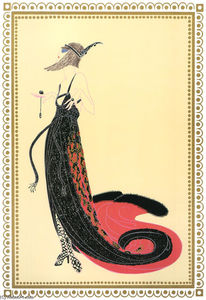 Erté (Romain De Tirtoff) - Black Magic