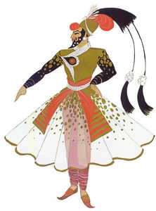 Erté (Romain De Tirtoff) - Costume Design