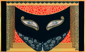 Erté (Romain De Tirtoff) - Eyes of Jealousy