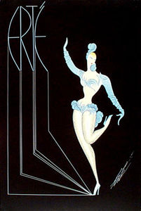 Erté (Romain De Tirtoff) - Fancy Free