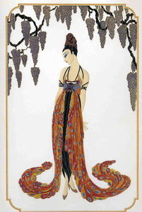 Erté (Romain De Tirtoff) - Feather Gown
